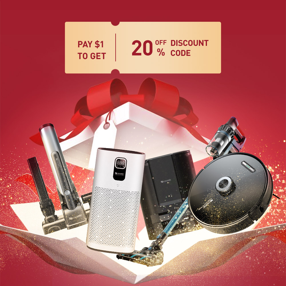 Pay 1$ to get 20% off discount code.